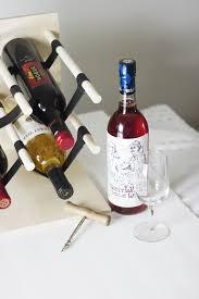 diy wood u0026 leather wine rack the merrythought