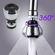 360 rotate kitchen faucet water swivel head adapter water filter