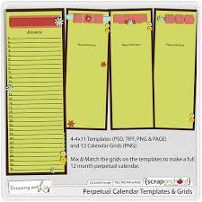 perpetual calendar template any year perpetual calendar template