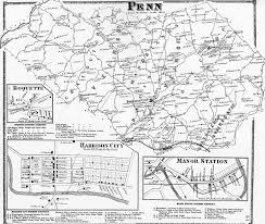 Map Of Pennsylvania Cities by Westmoreland County Pennsylvania Atlas 1867