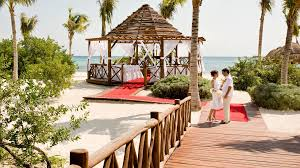 Grand Resort Gazebo by Weddings In Playa Del Carmen Grand Riviera Princess