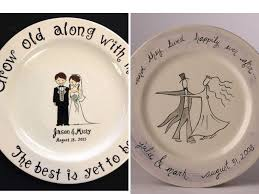 personalized wedding plate the 30 best wedding gifts from the groom to the everafterguide
