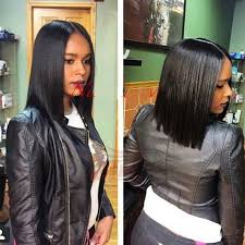 bob hairstyle with part down the middle image result for middle part weaves shoulder length hair