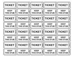 printable scale tickets raffle ticket template printable tickets depiction wonderful use for