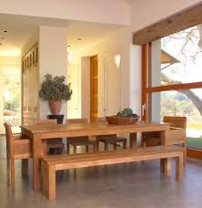 bench style dining room tables wood bowl archives dining room decor