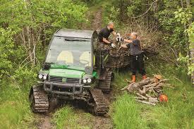 john deere gators get on track