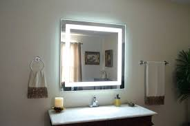 Lighted Mirror Bathroom Lighted Mirrors Bathroom Light Above Vanity Fixtures