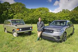 dark green range rover new range rover velar meets its predecessor auto express