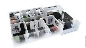 Floor Plan Salon by 100 3d Plans 25 More 3 Bedroom 3d Floor Plans 3d Floor Plan