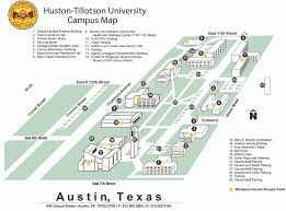 American University Campus Map About Ht Huston Tillotson