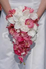 artificial wedding flowers shop white pink gerbera calla artificial bridal