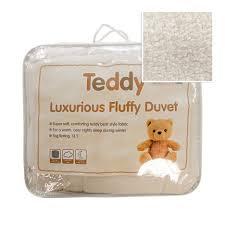 teddy luxurious fluffy duvet 13 5 tog tonys textiles