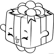 print gift box shopkins season 4 coloring pages cooki kooki