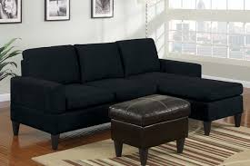 Microfiber Sectional Sofa With Chaise Sofa Beds Design Best Ancient Black Suede Sectional Sofa Design