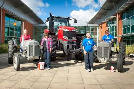 massey ferguson fuels charity tractor run page 65 of 127 agco blog