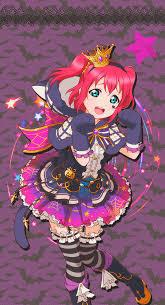 love live idol festival ruby halloween by lizzrawr on