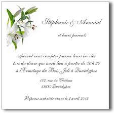 carte mariage carte mariage lys lutin faire part