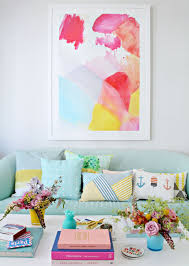 minted oversized statement art prints for your home blogger