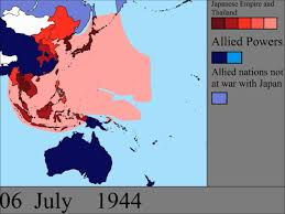 Post Ww2 Map World War Ii In The Pacific Every Day Youtube