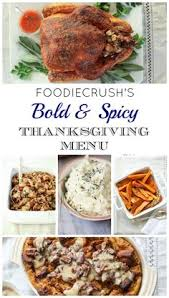 go bold with butterbree s modern classic thanksgiving menu