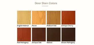 Stain For Fiberglass Exterior Doors Fiberglass Door Stain Color Swatches Home Pinterest
