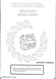honda engines gv400 pdf owner u0027s manual free download u0026 preview