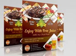 cara membuat brosur makanan contoh brosur makanan 1 infoana com