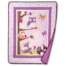 Purple Elephant Crib Bedding Bedtime Originals 3 Piece Crib Bedding Set Lavender Woods Target