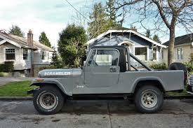 jeep scrambler seattle u0027s parked cars 1982 jeep cj 8 scrambler