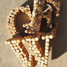 create crafty wine cork monograms u2014 green is universal cork