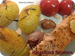 defi cuisine hasselback potatoes pour le défi cuisine d octobre cuisine d ici