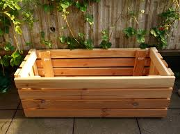 How To Make A Box Bed Frame Upcycle A Planter From Bed Frame Slats The Artful Thrifter
