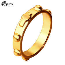 cross gold rings images Buy unique cross ring for men women wholesale jpg