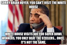 Brian Hoyer Memes - brian hoyer you can t visit the white house