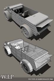 vw kubelwagen vw kubelwagen 1944 wip 2 by 3dmaxter on deviantart