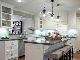 Pictures Of Kitchens With White Cabinets And Black Countertops Best Fixer Upper Kitchen Makeovers Popsugar Home