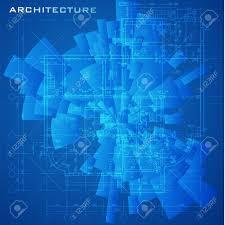 abstract futuristic architectural design urban blueprint