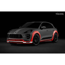 2015 porsche macan turbo vicrez porsche macan turbo 2013 2017 polyurethane 18 pcs wide body