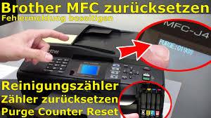 brother printer mfc j220 resetter brother mfc reinigungszähler zurücksetzen purge counter reset