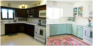 house makeover this bright and cheery kitchen renovation cost just 250 cheap
