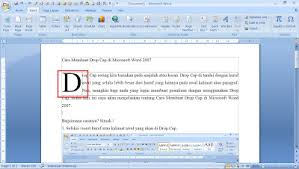 membuat novel di ms word microsoft word nurul fajri