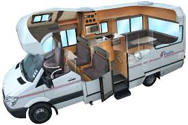retro tourer coachbuilt motorhome interior haammss