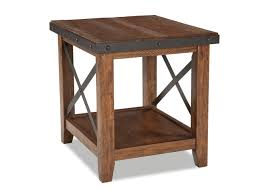 Pine End Tables Taos End Table Vintage Oak