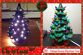 ceramic christmas tree diy vintage ceramic christmas tree