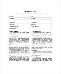 apartment lease template apartment lease template aplg