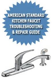 american standard kitchen faucet repair parts american standard faucet white finger