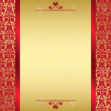 golden card with ribbons vector royalty free cliparts