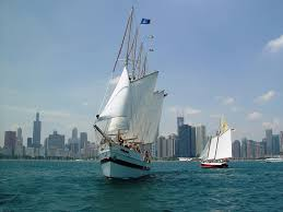 lake michigan sailing cruises u0026 charters tall ship windy chicago