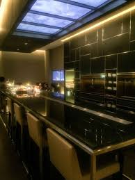 counter attack under cabinet lighting todayonline british airways launches concorde bar in changi airport