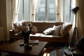 bay window curtain rod ideas all about house design easy bay